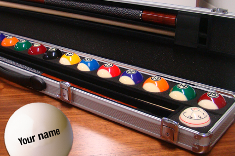 Case for billiard balls